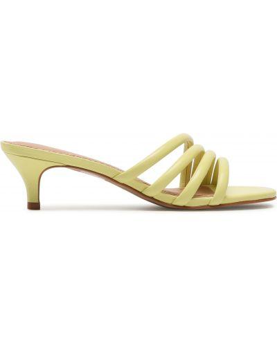 Шлепанцы классические - желтые Eva Longoria