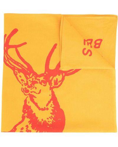 Żółta czapka bawełniana Filson