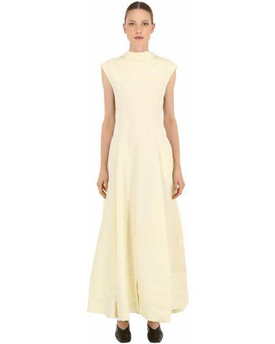 Льняное платье - желтое Jil Sander