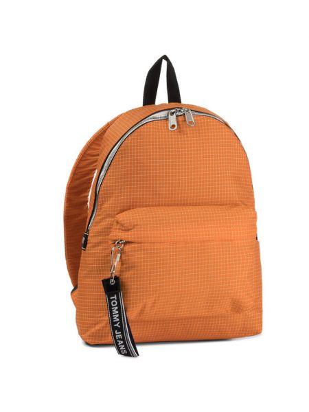 Pomarańczowy plecak Tommy Jeans