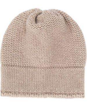 Beżowa czapka wełniana Aletta