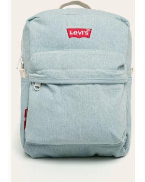 Niebieski plecak bawełniany Levi's