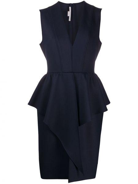 Sukienka mini biznes bez rękawów Stella Mccartney