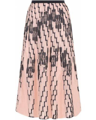 Юбка миди розовая с поясом M Missoni