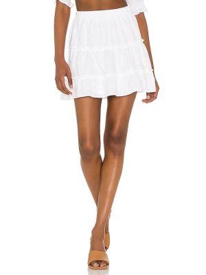 Белая юбка мини с подкладкой Show Me Your Mumu