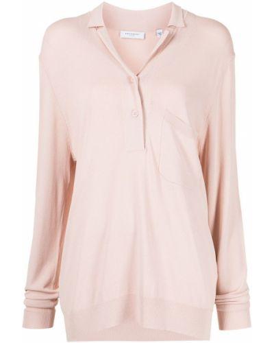 Рубашка с длинным рукавом - розовая Equipment