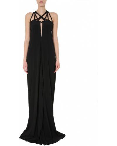 Sukienka długa elegancka - czarna Rick Owens