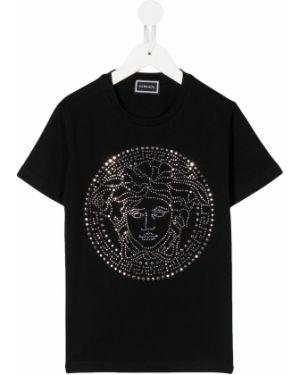 Черная рубашка Young Versace