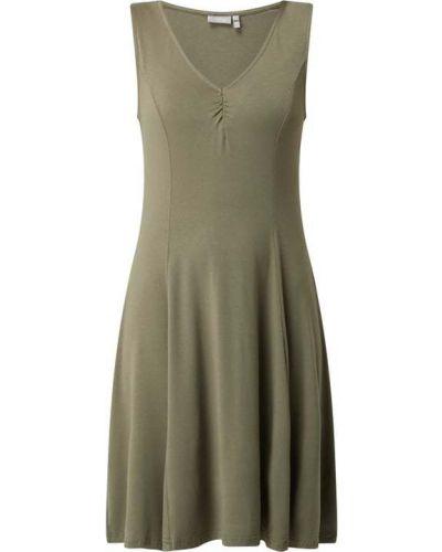 Zielona sukienka z wiskozy Fransa