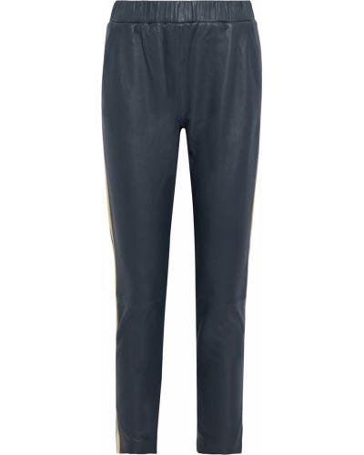 Niebieskie spodnie w paski Walter Baker