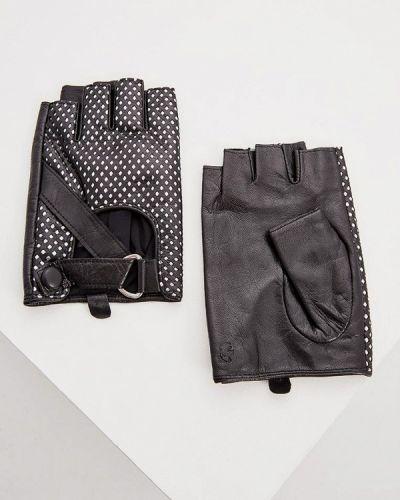 Митенки серебряного цвета Karl Lagerfeld