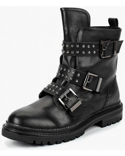 Ботинки на каблуке осенние кожаные Keddo