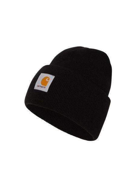 Czarna czapka prążkowana Carhartt Work In Progress