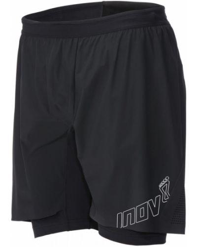 Короткие шорты черные спортивные Inov-8