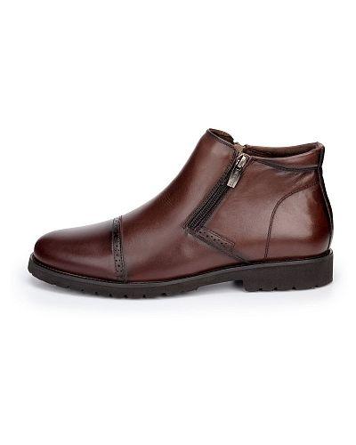 Коричневые ботинки Zenden