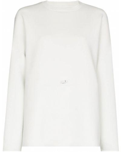 Biała bluza z długimi rękawami Sweaty Betty