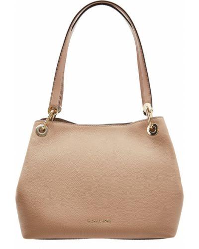 Кожаный сумка сумка-хобо среднего размера Michael Michael Kors