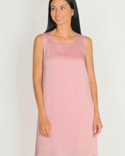 Повседневное платье осеннее розовое Lila