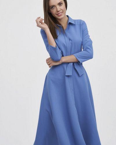 Платье - голубое Evalution