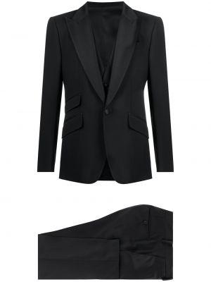 Garnitur trójka, czarny Dolce And Gabbana