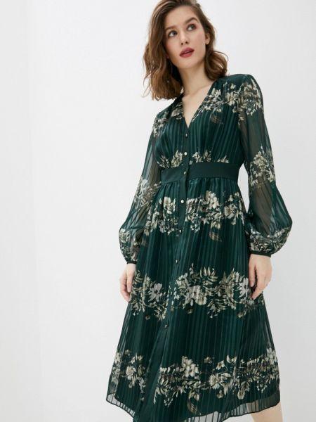 Повседневное платье зеленый весеннее Ted Baker London
