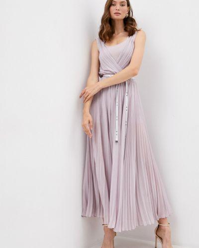 Розовое платье с запахом Patrizia Pepe