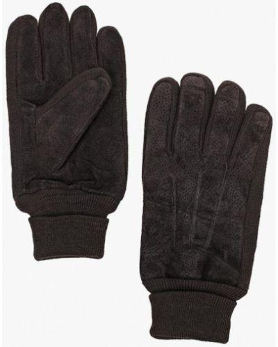 Серые перчатки текстильные Modis