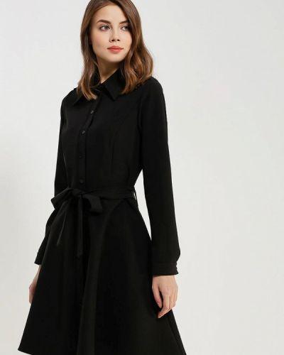 Платье осеннее черное Chic