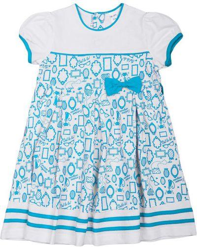Платье с рукавами с принтом хлопковое Lacywear