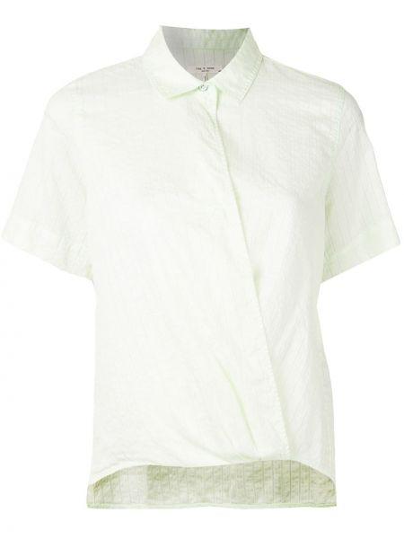 Koszula w paski - zielona Rag & Bone