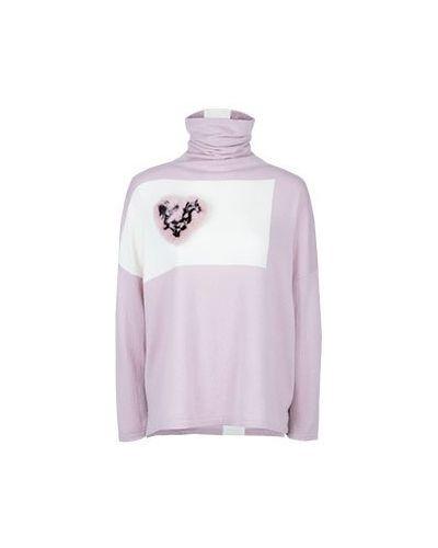 Водолазка розовый асимметричный Max & Moi