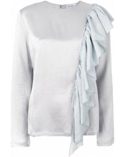 Блузка с длинным рукавом с оборками Tome