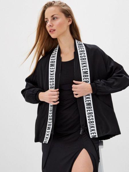 Черная куртка Bikkembergs