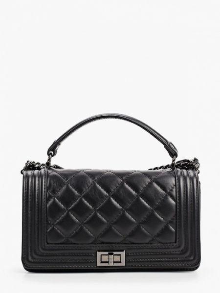 Кожаная сумка - черная Pulicati