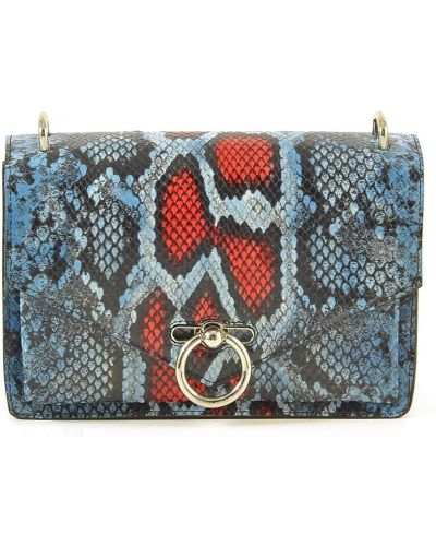 Niebieska torebka z printem Rebecca Minkoff