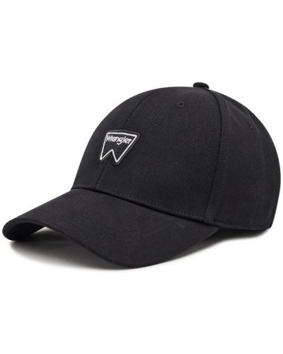 Czarna czapka z daszkiem Wrangler