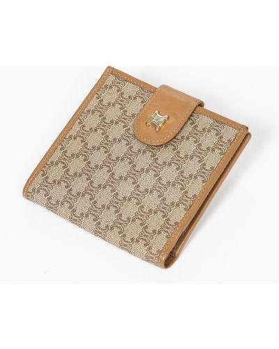 Brązowy portfel vintage Dior Vintage
