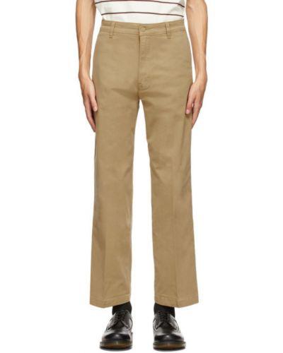 Прямые белые брюки с карманами Levi's®