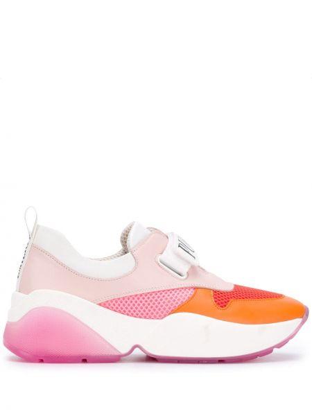 Sneakersy z siatką z logo Emilio Pucci