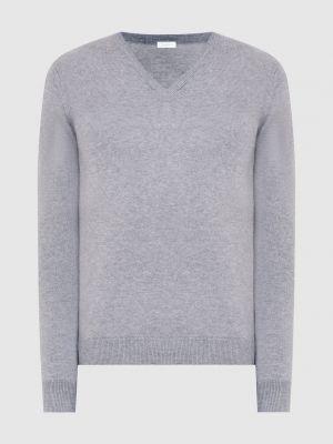 Кашемировый пуловер - серый Malo