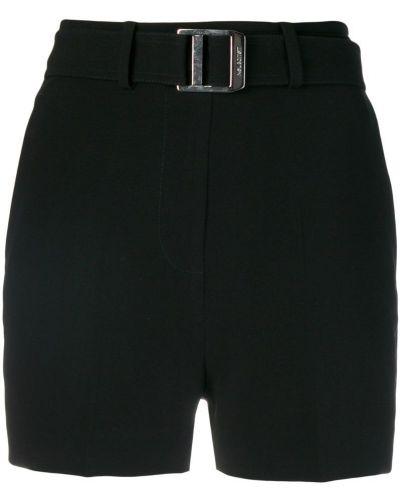 Деловые черные шорты с карманами Neil Barrett