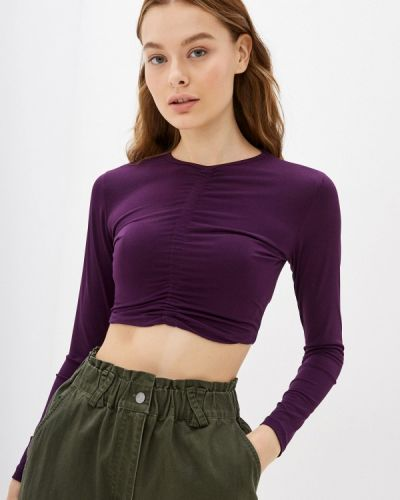 Топ - фиолетовый Trendyol