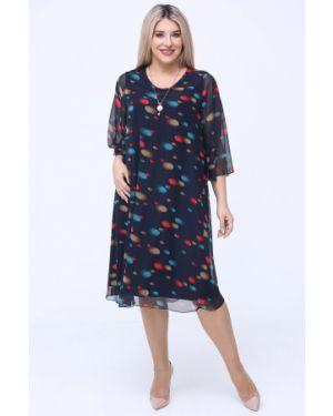 Платье с декольте с V-образным вырезом Luxury