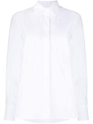 Хлопковая белая рубашка с воротником Valentino