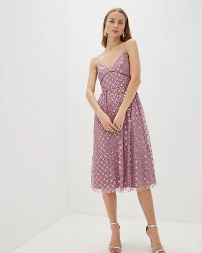 Вечернее платье осеннее фиолетовый Little Mistress