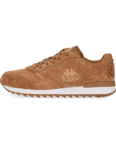 Кожаные кроссовки - коричневые Kappa
