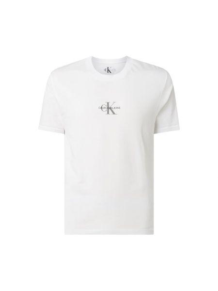 Koszula dzinsowa z logo wełniany Calvin Klein Jeans