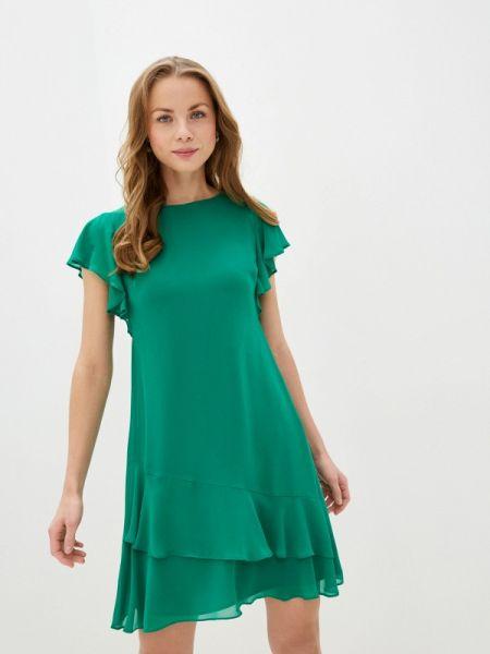 Повседневное платье зеленый весеннее Lauren Ralph Lauren