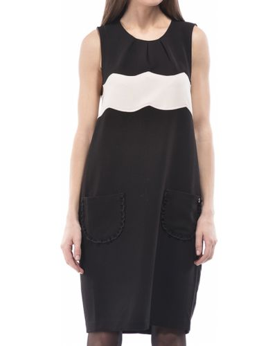 Платье из полиэстера - черное Twin-set