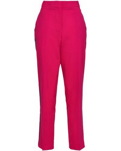 Różowe spodnie w paski wełniane Rag & Bone